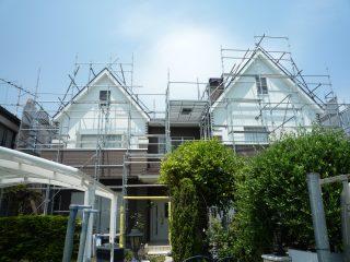 屋根足場(事例1)