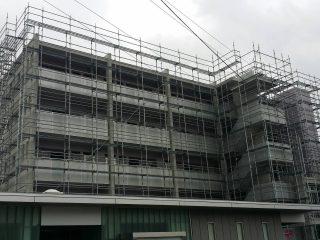 中高層修繕足場(事例17)