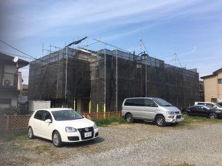 戸建修繕足場(事例2)