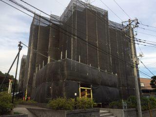 中高層修繕足場(事例26)