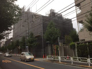 中高層修繕足場(事例30)