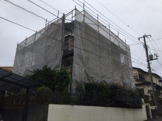 戸建修繕足場(事例3)