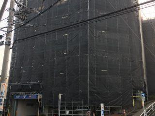 中高層修繕足場(事例36)